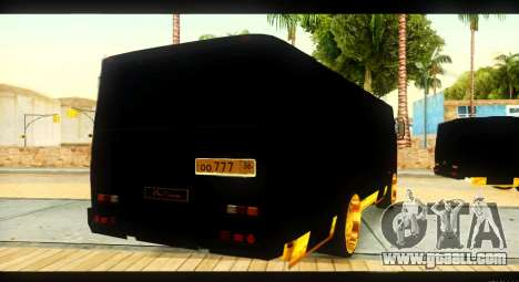 GROOVE 4234 Elite Gold for GTA San Andreas side view