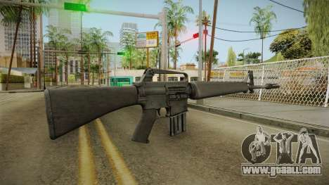 M16 for GTA San Andreas second screenshot