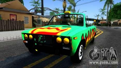 """VAZ 2106 """"Shaherizada"""" for GTA San Andreas"""