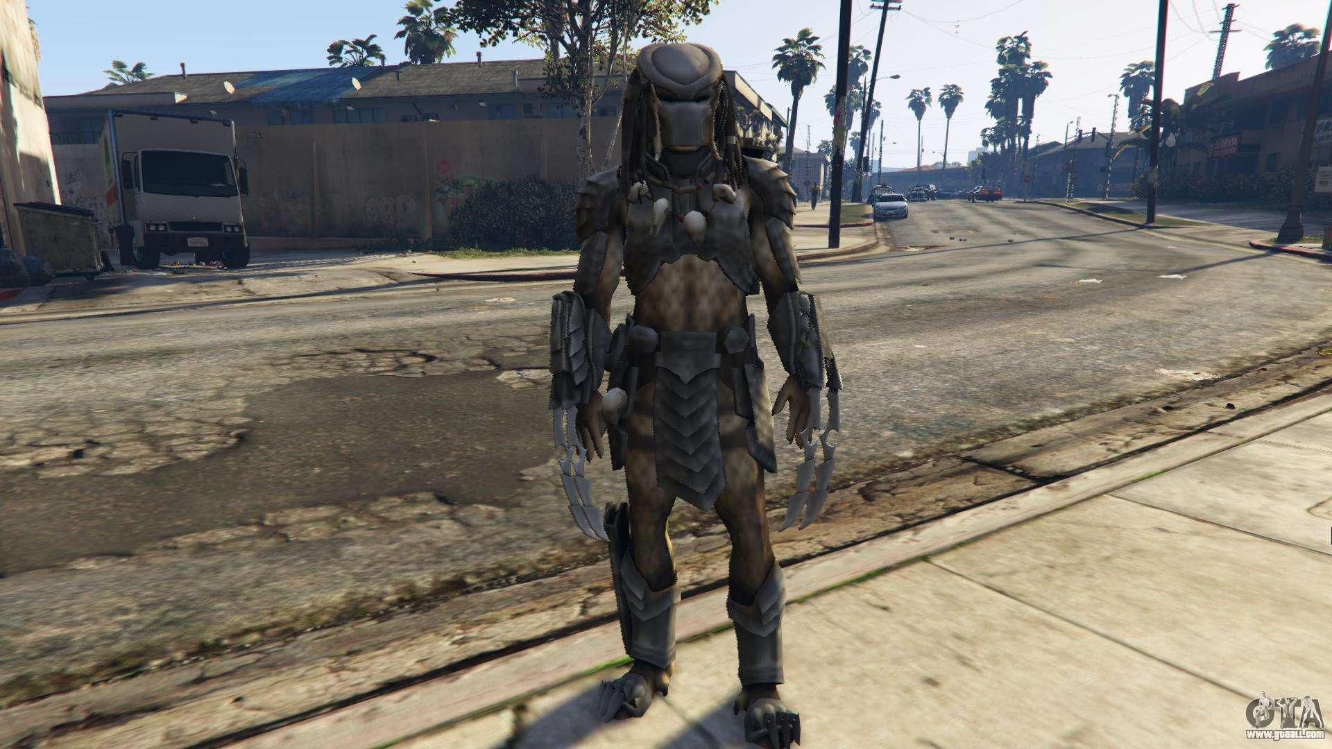 Predator 1 0 for GTA 5