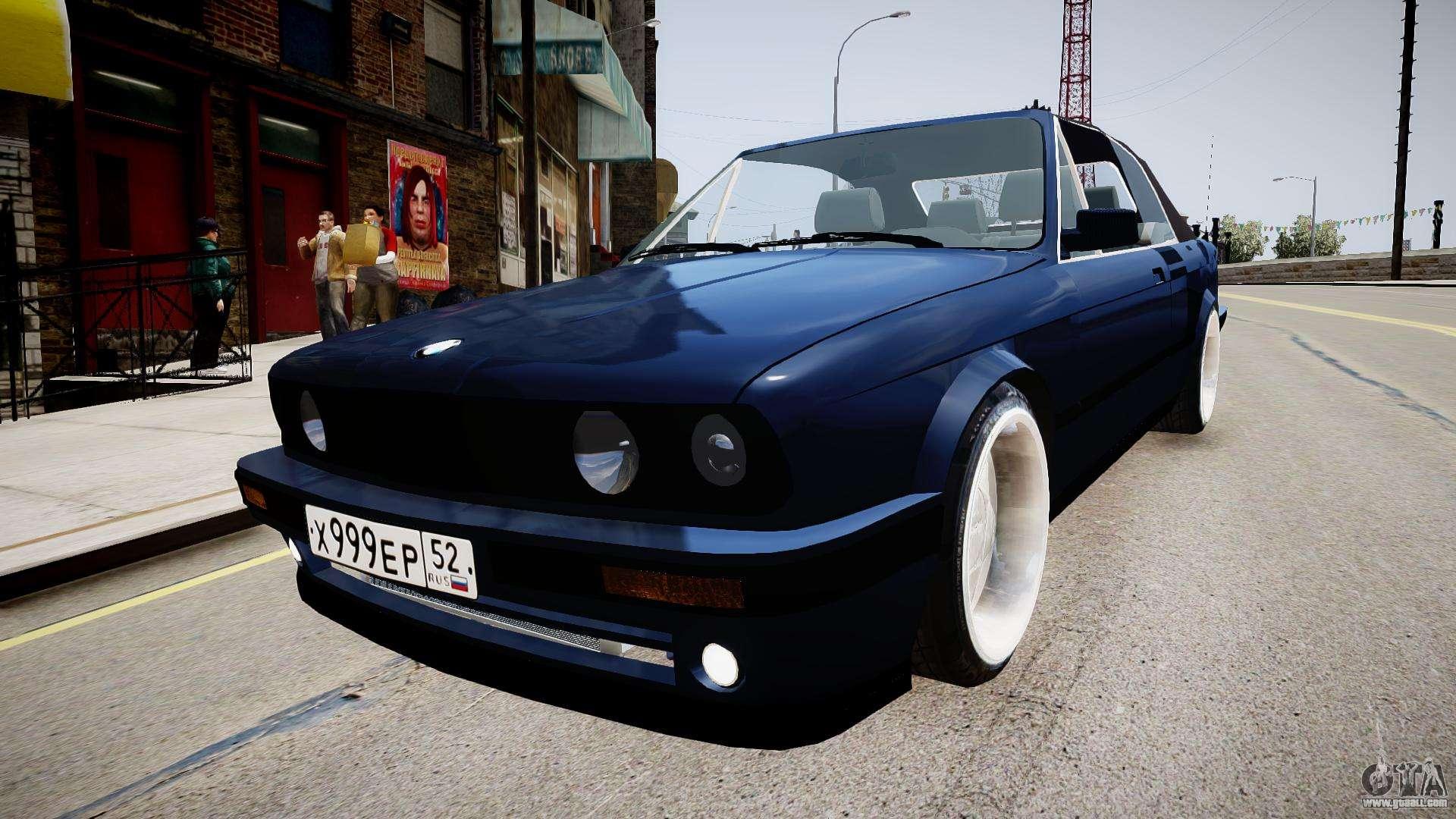BMW E I Cabrio For GTA - Bmw 1989 e30