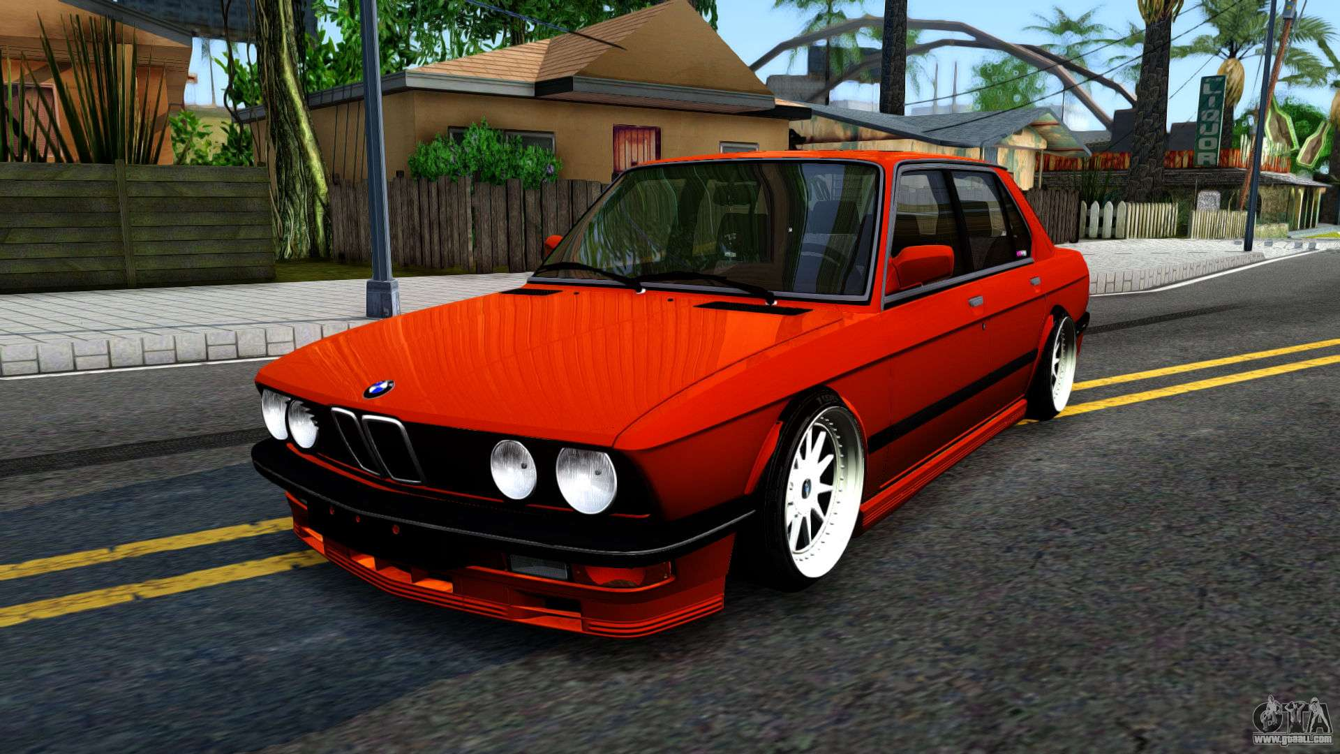bmw e28 m5 for gta san andreas. Black Bedroom Furniture Sets. Home Design Ideas