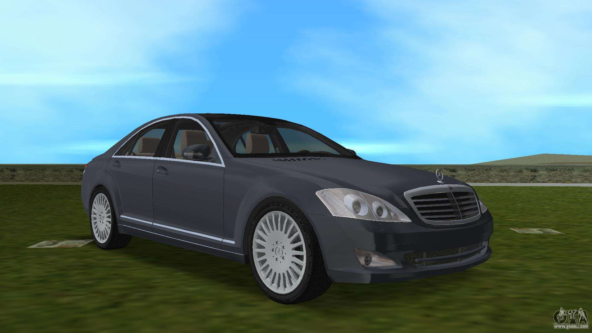 mercedes benz s500 w221 2006 for gta vice city. Black Bedroom Furniture Sets. Home Design Ideas