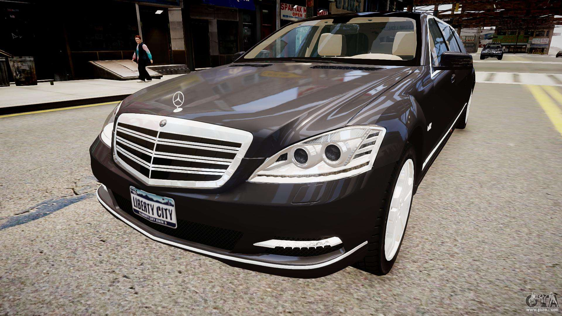Mercedes benz s600 guard pullman 2011 for gta 4 for S600 mercedes benz