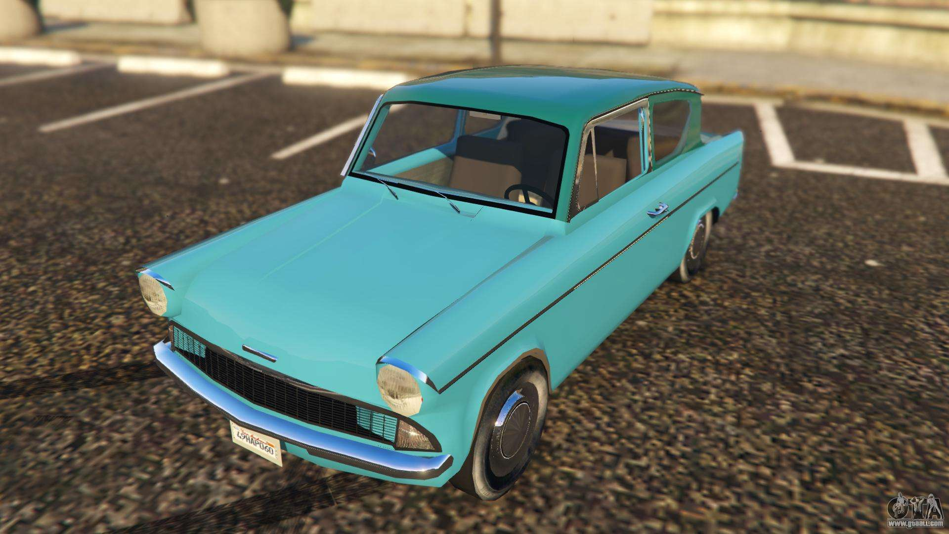ford anglia 1959 from harry potter for gta 5. Black Bedroom Furniture Sets. Home Design Ideas