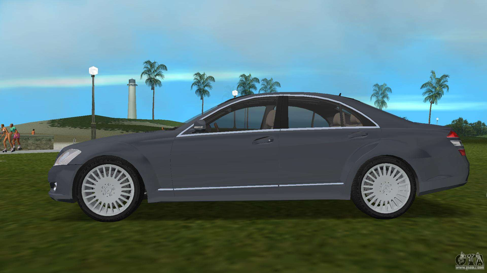 Mercedes benz s500 w221 2006 for gta vice city for Mercedes benz city