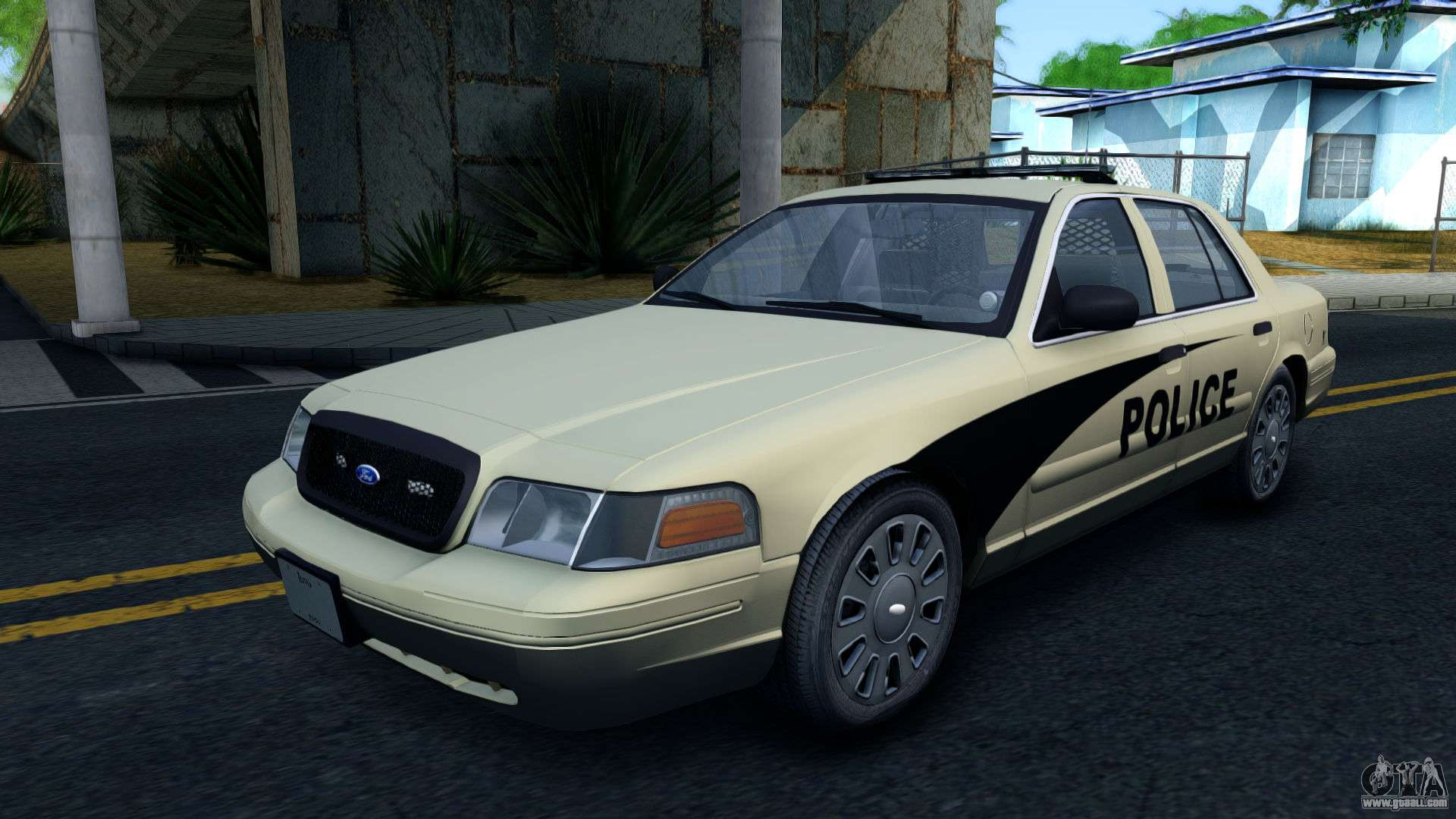 ford crown victoria generic 2010 for gta san andreas. Black Bedroom Furniture Sets. Home Design Ideas