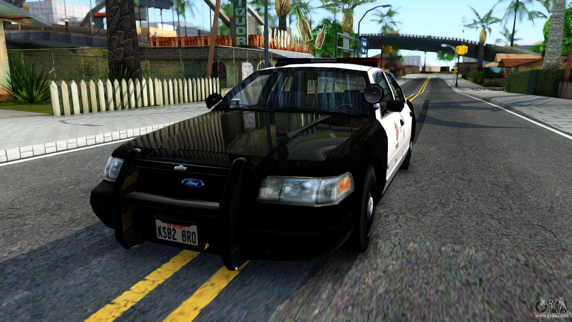 Ford Crown Victoria Police for GTA San Andreas Gta San Andreas Police Cars