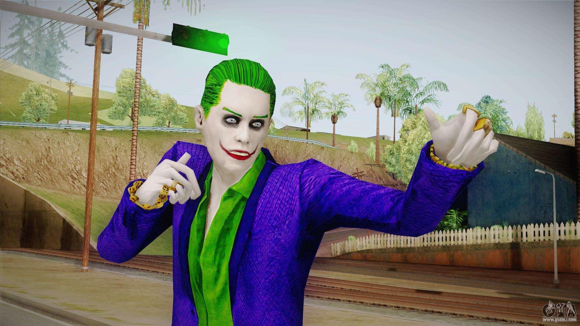 Joker (Joaquin Phoenix) for GTA San Andreas