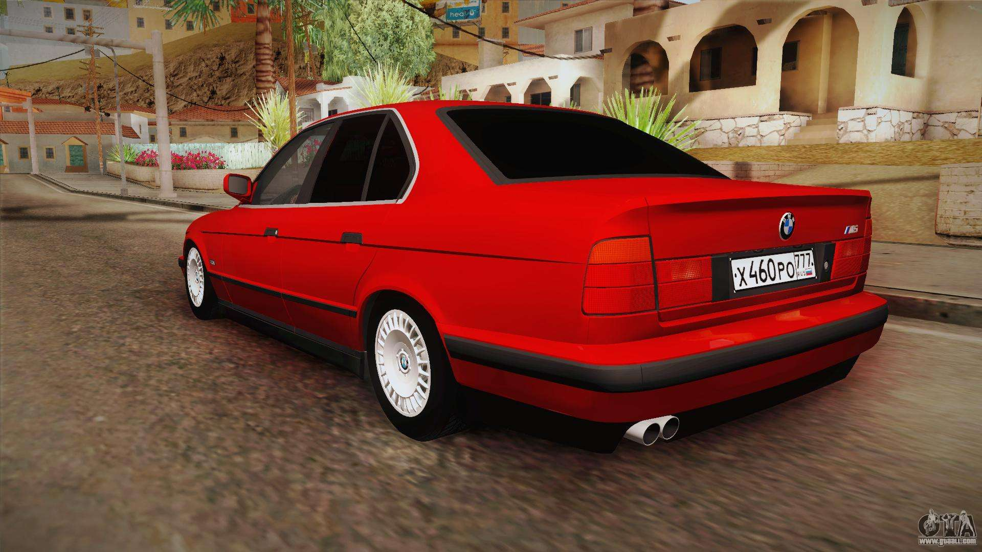 bmw m5 e34 for gta san andreas. Black Bedroom Furniture Sets. Home Design Ideas