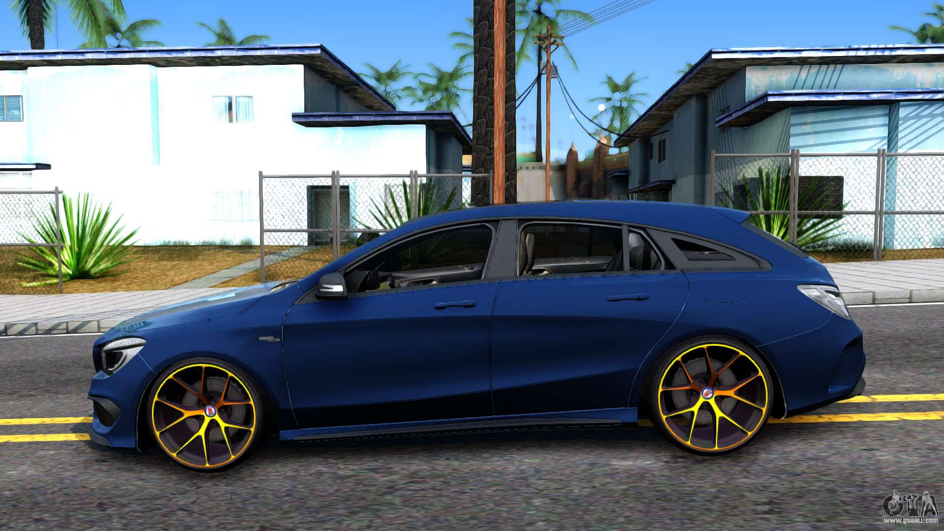 mercedes benz cla 45 amg shooting brakes boss for gta san. Black Bedroom Furniture Sets. Home Design Ideas