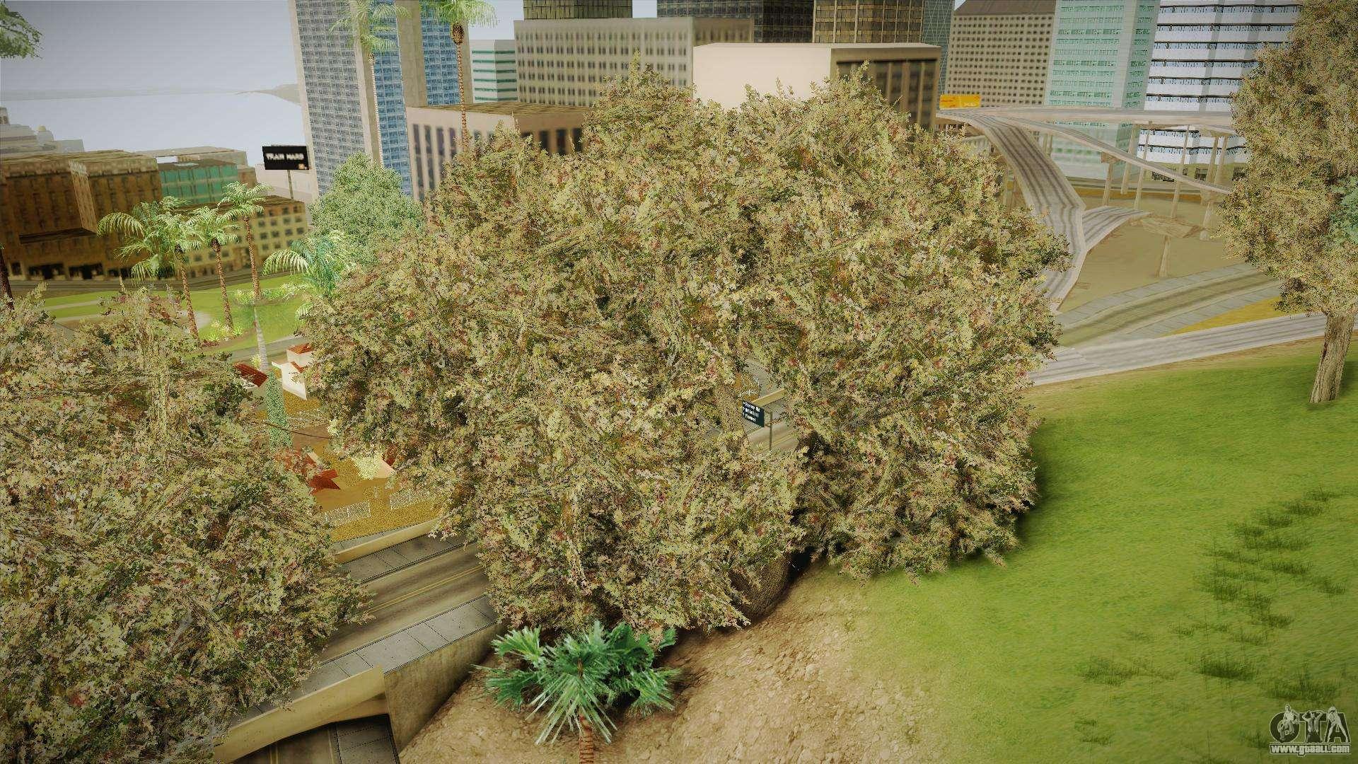 GTA 4 Vegetation for GTA San Andreas