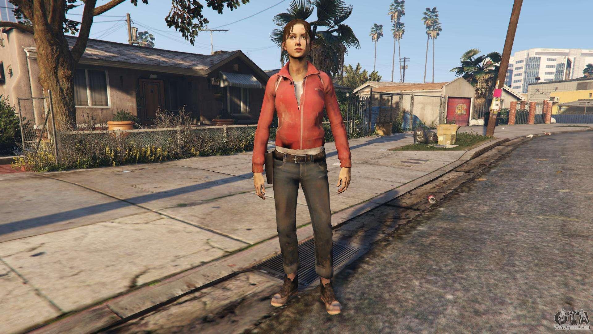 Left 4 Dead Survivor 1 for GTA San Andreas