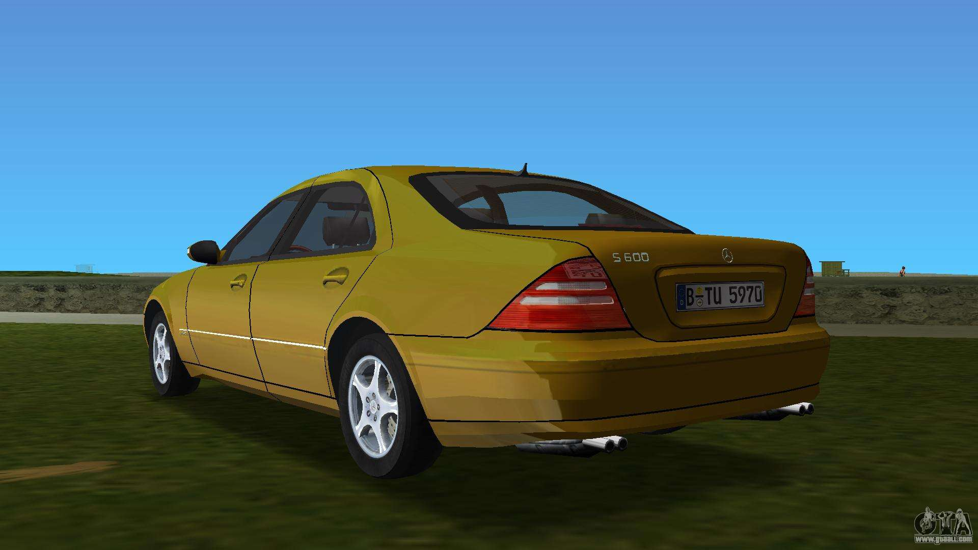 Mercedes benz s600 w220 for gta vice city for S600 mercedes benz