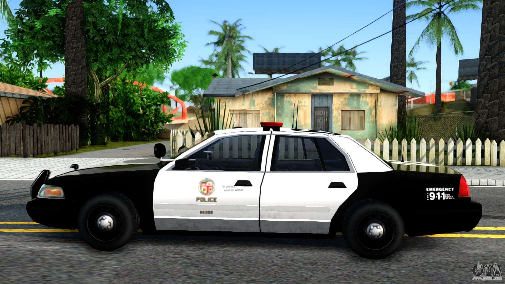 ford crown victoria police for gta san andreas. Black Bedroom Furniture Sets. Home Design Ideas