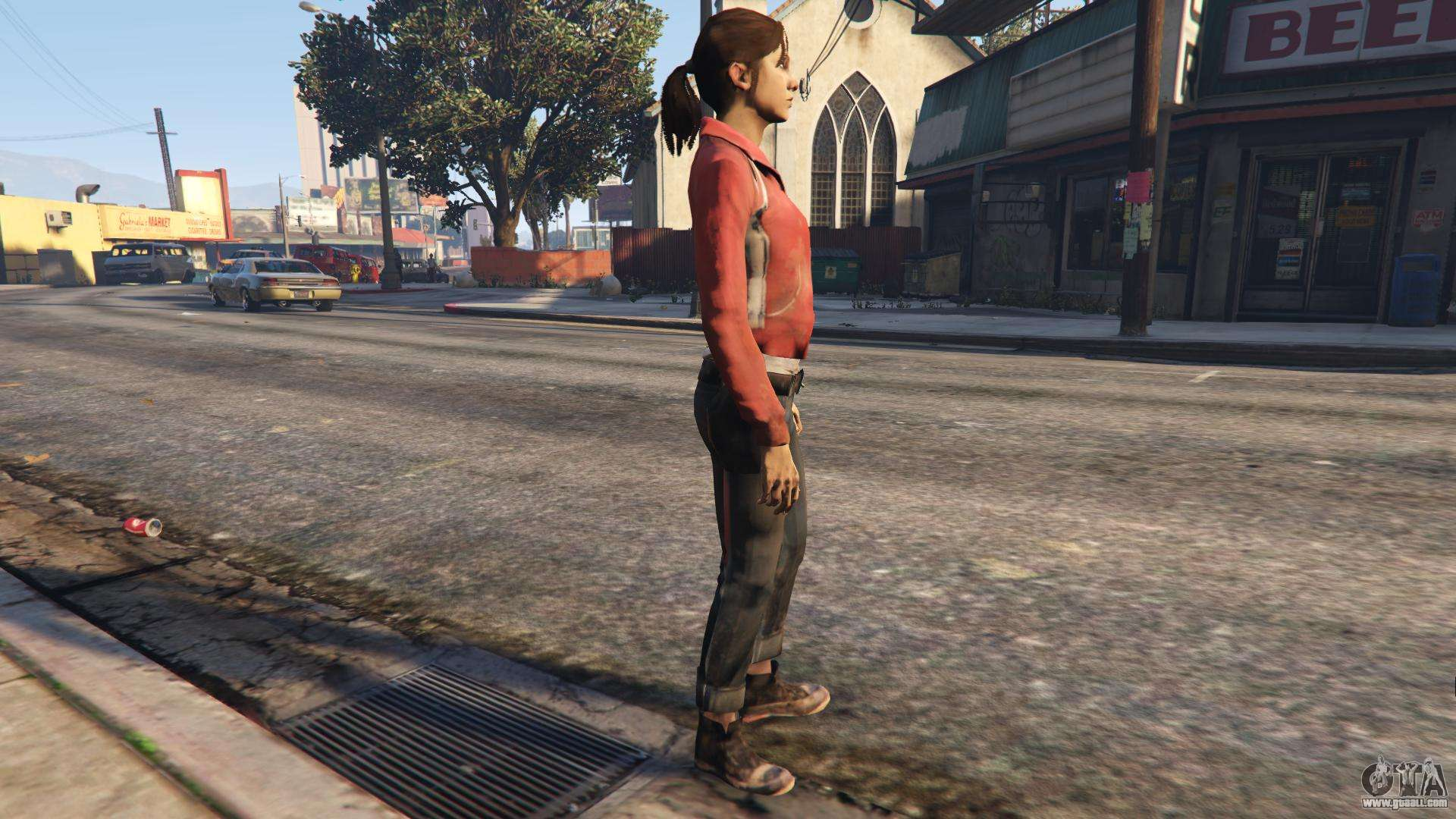 Bill from Left 4 Dead Beta for GTA San Andreas