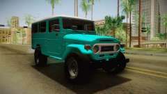 Toyota Land Cruise FJ40 Chasis Largo 1978 for GTA San Andreas