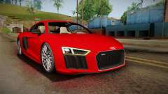 Audi R8 V10 2017 for GTA San Andreas