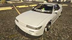 Nissan Silvia S13 Kyoto Rocket Bunny 666