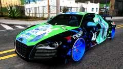 Audi R8 V.1.0 Itasha Yoshino Hermit DAL LWP