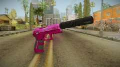 GTA 5 Combat Pistol Pink for GTA San Andreas