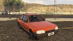 Ford Escort GL Original brasil 1988 for GTA 5