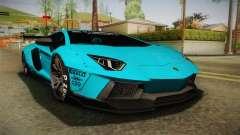 Lamborghini Aventador LP700-4 Liberty Walk LB for GTA San Andreas