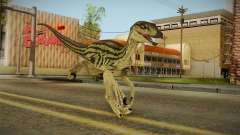Primal Carnage Velociraptor Ivy Striped for GTA San Andreas