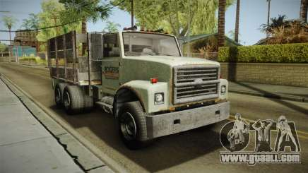 GTA 5 Vapid Scrap Truck v2 IVF for GTA San Andreas