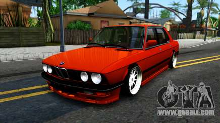 BMW E28 M5 for GTA San Andreas