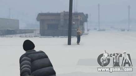 Snowballs in Singleplayer for GTA 5
