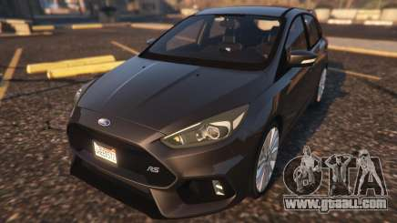Ford Focus RS 2016 for GTA 5