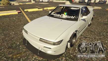 Nissan Silvia S13 Kyoto Rocket Bunny 666 for GTA 5