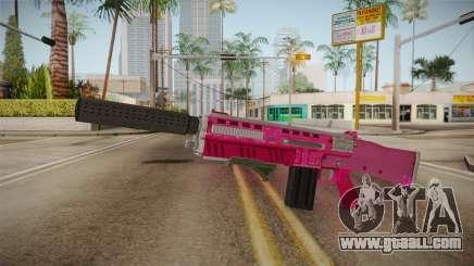 GTA 5 Assault Shotgun Pink for GTA San Andreas