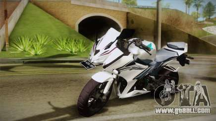 Honda CBR150R 2016 White Row for GTA San Andreas