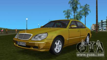 Mercedes-Benz S600 W220 for GTA Vice City