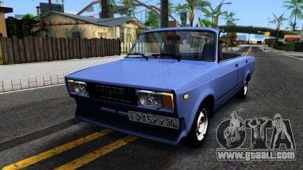VAZ 2105 V2 convertible for GTA San Andreas