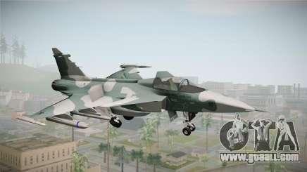 EMB J-39C Gripen NG FX-2 FAB for GTA San Andreas