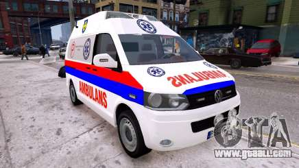 Volkswagen T5 Polish Ambulance for GTA 4