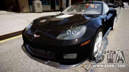 Chevrolet Corvette ZR1 v2.0 for GTA 4