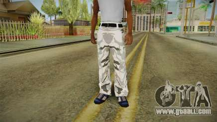 Tights winter camo for GTA San Andreas