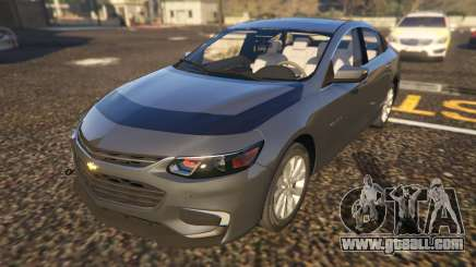 Chevrolet Malibu 2017 for GTA 5