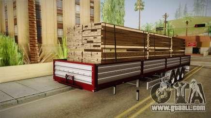 Bort Job Trailer for GTA San Andreas