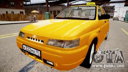 VAZ 2112 Taxi for GTA 4