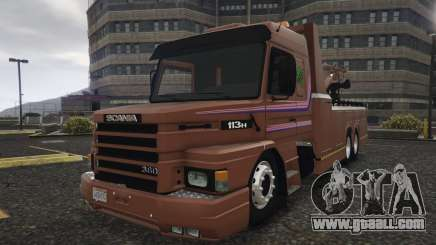 Scania 113H Guincho 4x6 Funcional for GTA 5