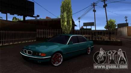 BMW 730i for GTA San Andreas