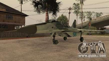 MIG-29 Armenian for GTA San Andreas