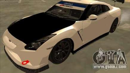 Nissan GT-R Drift JDM for GTA San Andreas