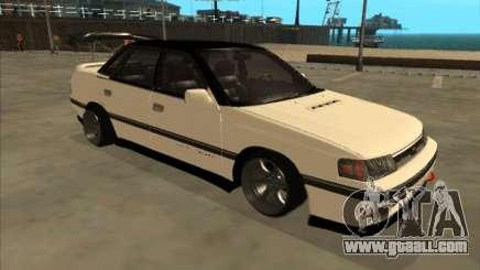 Subaru Legacy DRIFT JDM 1989 for GTA San Andreas