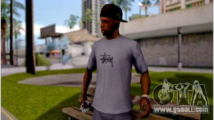 T-Shirt Stussy for GTA San Andreas